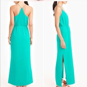 J. Crew Racerback Maxi Dress - Size 6